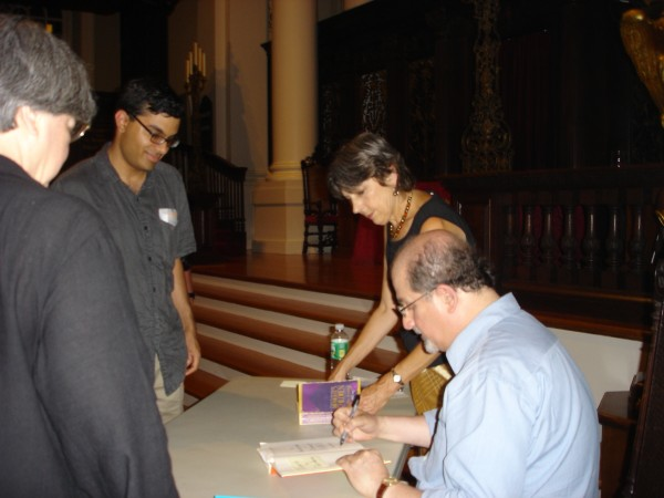 Me and Rushdie